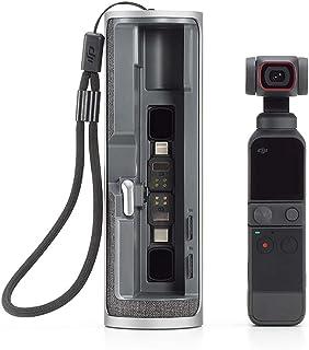 KINGDUO DJI 1500Mah Batterie Réserve Doublée Batterie Life Boîte De Charge Mobile pour DJI Pocket 2