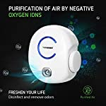 Vivosun 2-pack plug-in mini ionic air purifier ozone generator - portable odor eliminator, adjustable efficiency 10-50mg… 12 freshen your life: designed for domestic use, place this ozone generator wherever odors permeate like dressing rooms, dining rooms, kitchens, bathrooms, basements, and rooms with pets. Best used within enclosed spaces. Range: from 10–50mg/hr. Fitting for different environments and equipped with a performance indicator light. Vivosun air purifier only emits little to no noise while it in operating. Modern design: plug in to use, easy to carry. Just turn the wheel to start and regulate the production of ozone. Easy to use and transport.