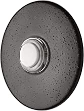 Newhouse Hardware ORB5WL Lighted Doorbell Button, 1-Pack, Oil-Rubbed Bronze