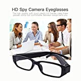 Spy Camera Glasses Hidden Full HD 1080P Mini Camera Fashion Loop Video Recorder Portable Security Cam