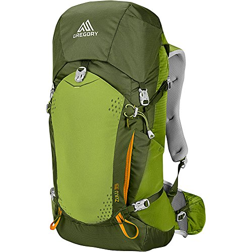 Gregory Mountain Products Zulu 35 Liter Men's Backpack, Moss Green, Medium
