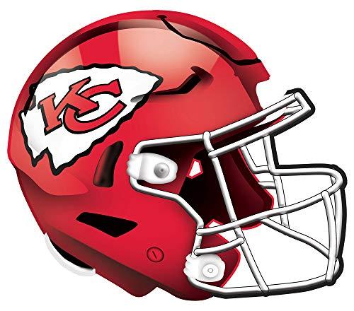 NFL Kansas City Chiefs Unisex Kansas City Chiefs Authentischer Helm, Team-Farbe, 30,5...
