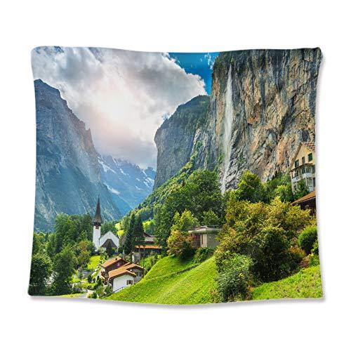 LZYMLGA - Tapiz de pared para colgar en la pared, playa de arena, picnic o tienda de campaña, cojín para dormir, decoración del hogar, sábana de pared GT110049 70 x 100 cm (lijado)