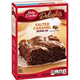 BROWNIE MIX: Bake a delicious dessert with this salted caramel brownie mix that makes gooey, mouth-watering brownies; top with the included pouch of salted caramel for an extra sweet treat QUICK AND EASY: Make brownie mix without the usual mess; just...