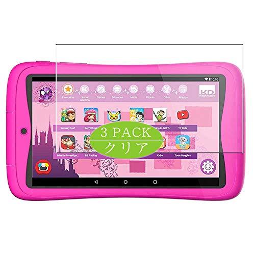 Vaxson Protector de pantalla, compatible con Kurio C18151 Tab Connect Kinder Kids Tablets 7 pulgadas, protector de película protectora de TPU [no protectores de vidrio templado]