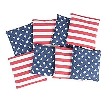 Triumph Patriotic Stars and Stripes 12 oz. Bean Bags