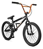 Mongoose Legion L20 Freestyle BMX Bike Line for Beginner-Level to Advanced Riders, Steel Frame, 20-Inch Wheels, Black/Green