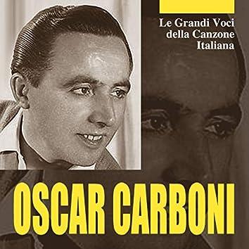 Le grandi voci della canzone italiana - Oscar Carboni