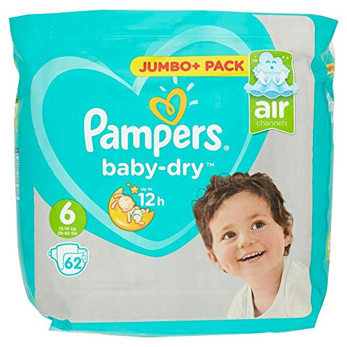 Pampers 81663652 Baby-Dry Pants windeln, weiß