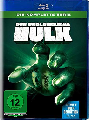 Der unglaubliche Hulk - Die komplette Serie auf 16 Blu-rays
