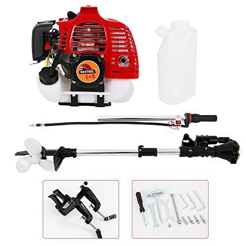 MOMOJA Motor Resistente del Barco Externo de la Pesca del Motor Externo de 2 Tiempos 2.5HP con el Sistema de CDI