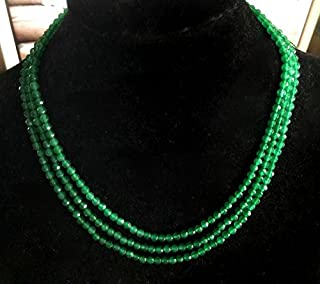 Best natural emerald beads necklace Reviews