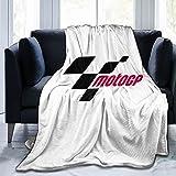 Moto Gp Manta polar ligera y cómoda manta de invierno cálida de franela, para dormitorio, sala de estar de 200 x 150 cm