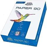 Avery 2563 - Papel para impresora laser (DIN A4, sin recubrimiento, 90 g/m², 500 hojas)