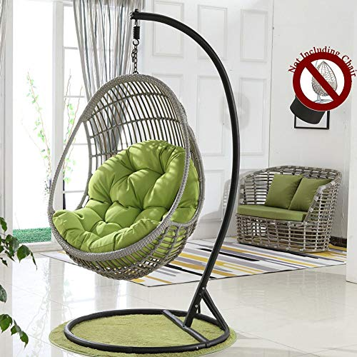 HYXQYYMY Swing Cushion Hanging Egg Hammock Chair Cushions,Thicken Fluffy Cotton Fill Wicker Rattan Swing Seat Cushion,Polyester Waterproof Fabric Comfortable and Super-Soft Touching