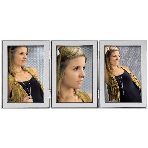 Hama Portrait Bilderrahmen Philadelphia (Fotogröße 3x 13 x 18 cm) silber