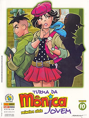 Turma da Mônica Jovem - Volume 10. Primeira Série