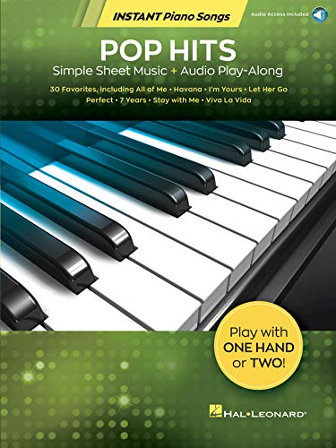 Pop Hits - Instant Piano Songs: Simple Sheet Music + Audio Play-Along (English Edition) eBook: Hal Leonard Corp.: Amazon.es: Tienda Kindle