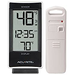 AcuRite 02059M Digital Thermometer with Indoor and Outdoor Temperature