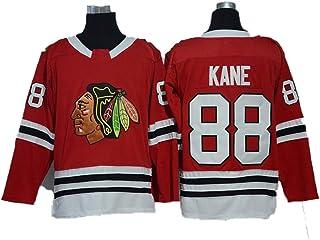 Yajun Patrick Kane88 Chicago Blackhawks Eishockey Trikots Jersey NHL Herren Sweatshirts Atmungsaktiv T-Shirt Bekleidung