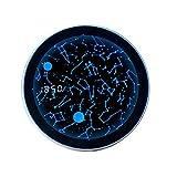 Creatividad TecnolóGica Despertador De Cielo Estrellado Bocina Bluetooth Reloj De Cuarzo Humanizar Novela ExtrañO Cielo Estrellado Giratorio Productos DoméSticos Estudiante Led Digital Regalo