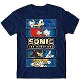 Sonic The Hedgehog Gold Foil Logo T-Shirt for...