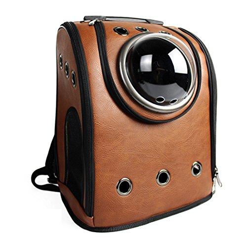 iTechor - Zaino per animale domestico, zaino per il trasporto di un animale domestico, borsa per cane e gatto