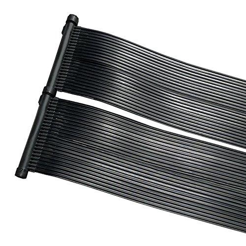 cs-trading Zelsius Zonnepaneel, zonnepaneel, zonnepaneel, zonne-absorberend, voor zwembad, ca. 600 x 80 cm Zwembadverwarming.