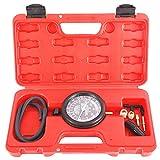KUNTEC Fuel Pump and Vacuum Pressure Gauge Leak Kit Carburetor Pressure Diagnostics Tool