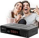 Leyf-2111 Pro Kabelreceiver Kabel Receiver Receiver für digitales Kabelfernsehen Combo DVB-C (HDTV,DVB-C / C2, DVB-T/T2, HDMI, SCART, USB 2.0, WLAN optional) + HDMI Kabel