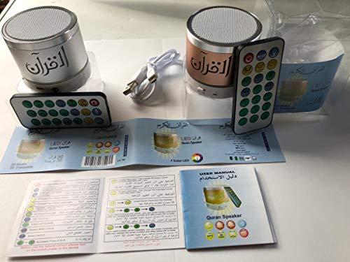Digital Quran Lautsprecher FM Radio mit Fernbedienung Koran Mp3 Player Mehrsprachige Rezitierer mit Kompass