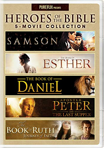 Heroes of the Bible 5-Movie Collection - DVD