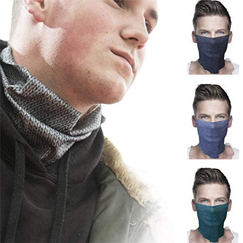ALB Stoffe® ProtectMe - COMFORT Loops Mix 8, permanent antimikrobiell, 100% Made in Germany, Ökotex® Standard 100, Mund-Nasen-Masken aus Trevira Bioactive®, waschbar, schadstofffrei, 4er Pack