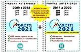 ENEM 2021 2160 questões - Provas Anteriores de 2009 a 2020 + Gabarito Oficial