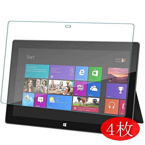 Vaxson 4 Stück Schutzfolie für Microsoft Surface 2 / Surface RT 10.6
