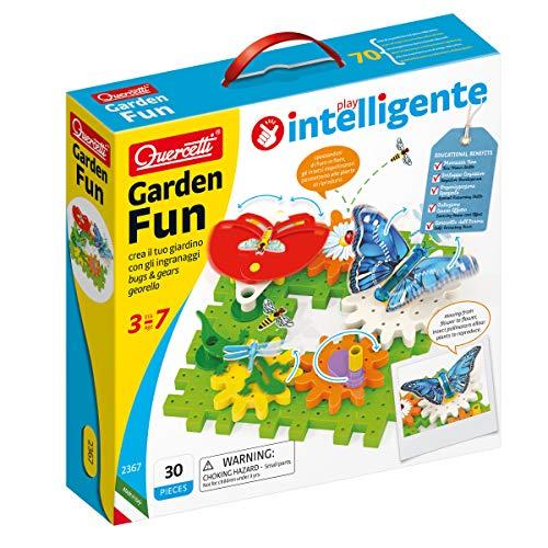 Quercetti 2367 Garden Fun Georello Bugs & Gears-Bauspiel