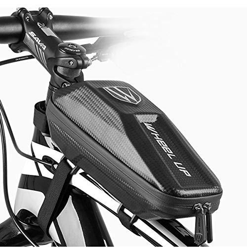 Yagosodee – Bolsa de bicicleta para teléfono delantero con marco impermeable al aire libre, incluye accesorios para bicicleta