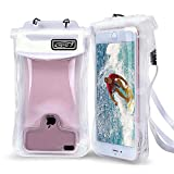 Waterproof Phone Case Floating Compatible with iPhone/Samsung/Google (Clear)