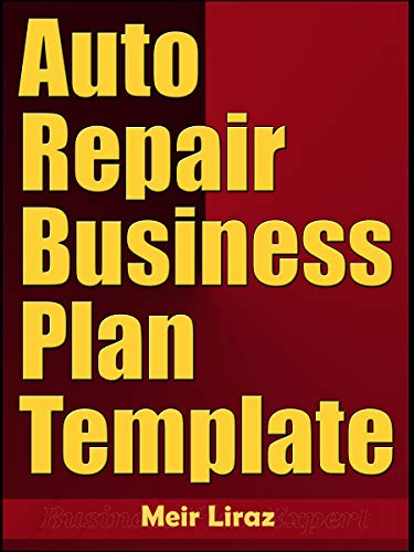 Auto Repair Business Plan Template (English Edition)