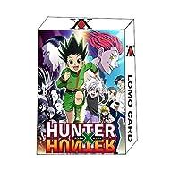 CHWSDTハンター×ハンター 人気アニメギフトボックスコレクションポストカードセット 猎人 ロモカードブックマークポ 2箱入(60枚)ポストカードセット