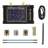 TOPQSC Analizzatore di Rete Vettoriale 50KHz-3GHz HF VHF Analizzatore di Spettro UHF 2000mAh Analizzatore di Antenna LCD Digitale da 3,2 Pollici Touch Screen Misura Parametri S Parameters, Fase