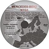 Actualización de mapas para Mercedes Benz NTG3 - DVD de navegación por satélite Reino Unido y Europa 2018/19