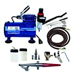 Paasche Airbrush H-100D Single Action Airbrush & Compressor Package
