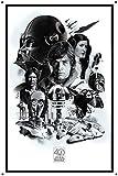 Retro Blechschild 20,3 x 30,5 cm Star Wars Poster Retro