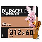 Duracell Hörgerätebatterien Größe 312, 60er...
