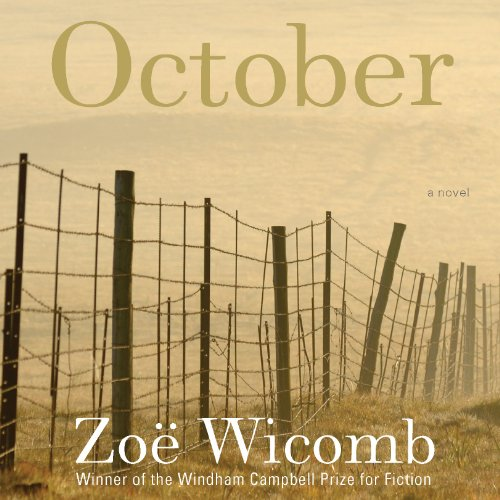 October audiobook cover art