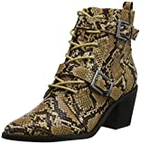 New Look Damen Giddy 2 Kurzschaft Stiefel, Beige (Stone NIU 15), 38 EU