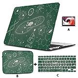 Estuches para Macbook Pro Bocetos de biología Estuche para Macbook Carcasa Dura de 13 Pulgadas Mac Air 11'/ 13' Pro 13'/ 15' / 16'con Funda para portátil para Macbook Versión 20