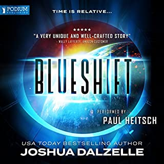 Blueshift                   By:                                                                                                                                 Joshua Dalzelle                               Narrated by:                                                                                                                                 Paul Heitsch                      Length: 8 hrs and 13 mins     391 ratings     Overall 4.2