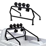INJORA RC Roll Cage Metal RC Roll Bar con 6 LED Luces para 1/10 RC Crawler Axial SCX10 D90 Tamiya CC01